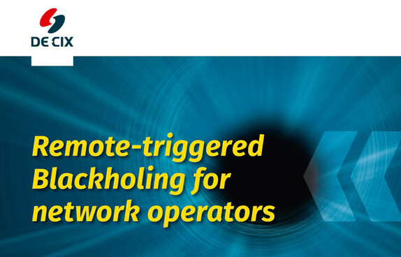 Remote triggered Blackholing for network operators cover