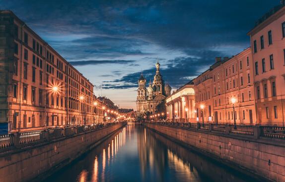 St Petersburg header
