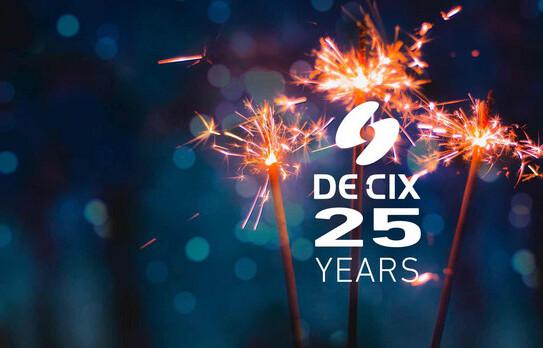 DE-CIX 25 years