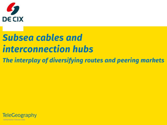 Subsea cables and interconnection hubs thumbnail