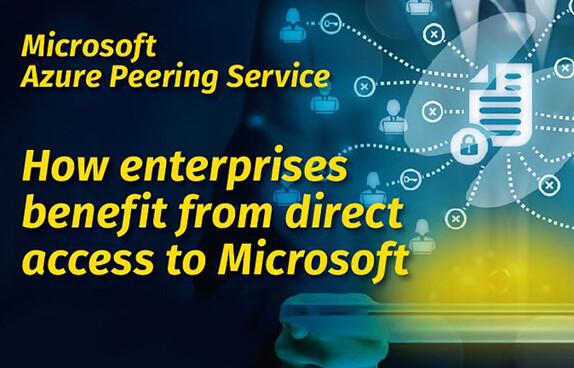 How enterprises benefit form direct access to Microsoft wp